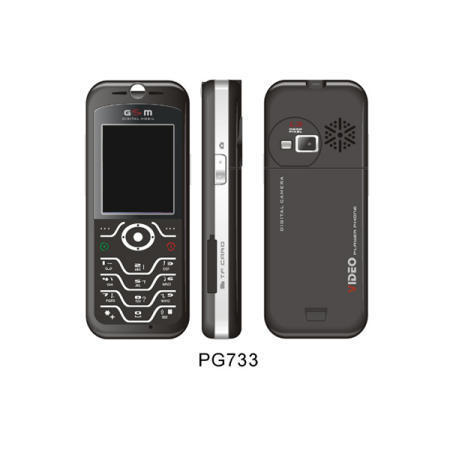 PG-733 GSM Phone with Radio and Camera