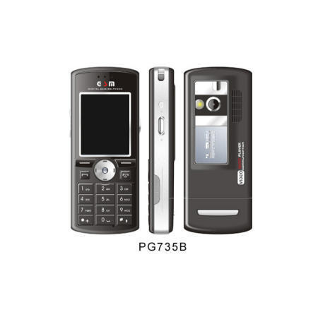 PG735B/PG735W GSM Phone with WAP Browser and 1.3 Mega CMOS/2 Mega CMOS Camera (PG735B/PG735W GSM телефон с WAP браузер и 1.3 Mega CMOS / 2 Mega КМОП-камера)
