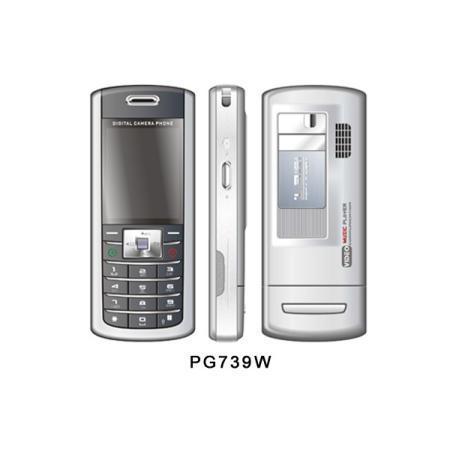 PG739 GSM Phone with MP3 and MP4 player + 1.3 MP camera (PG739 GSM телефон с поддержкой MP3 и MP4 плеер + 1,3 Мп камерой)