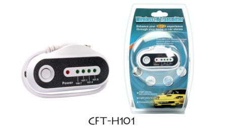 CFT-H101 Wireless FM Transmitter Enhances MP3 Experience through Any Home or Car