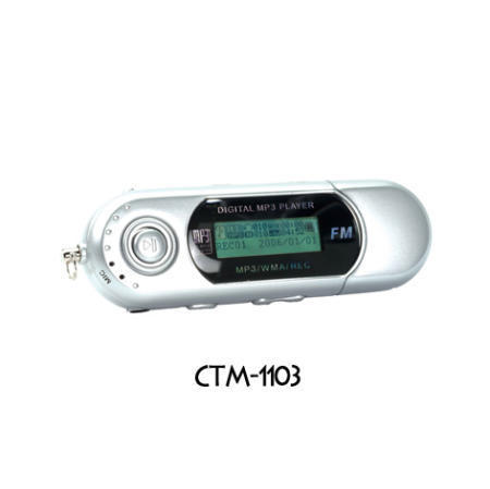 CTM-1103 Flash MP3 Players with Nand-Flash of Samsung