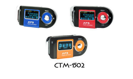 CTM-1502 USB 1.1 Flash MP3 Player with AB Repeat Function