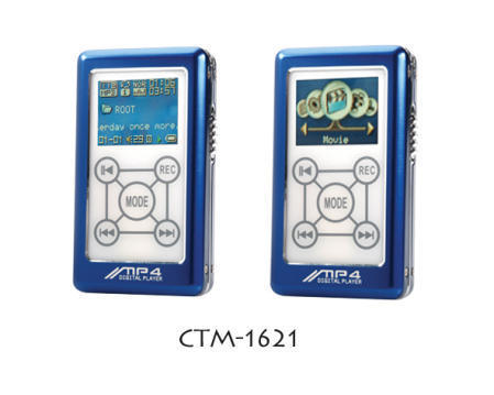 CTM-1621 USB Flash Driver/FM Radio/FM Recording Enabled Flash MP3 Player