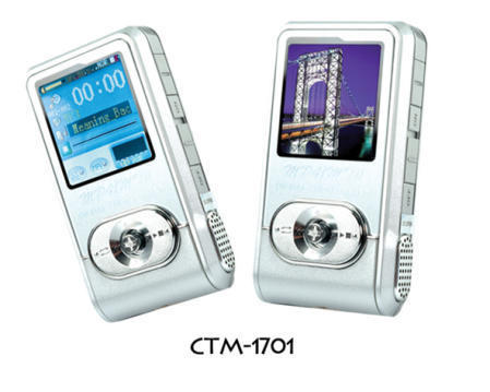 CTM-1701 Flash MP3 Player Supports MP1.2.3/WMA/WAV/ASF