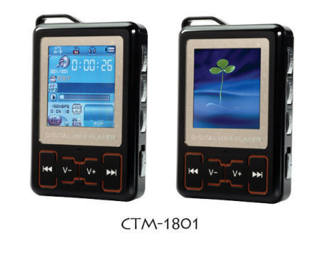 CTM-1801 Flash MP3 Player Equipped with a Movie Player and Photo Browser
