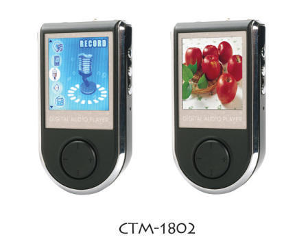 CTM-1802 Flash MP3 Player with Photo Browser/Movie Player