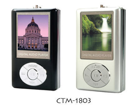 CTM-1803 Flash MP3 Player with USB 2.0 Connectivity, Supports Multiple Languages