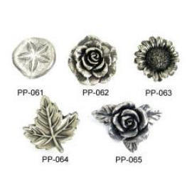 Pewter Furniture Knobs