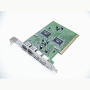 IEEE 1394 & USB 2.0 Combo PCI Card
