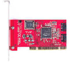 RAID Low Profile SATA 2 Port PCI Host (Низкопрофильные RAID SATA 2 Port PCI Host)