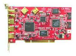 Serial ATA + USB 2.0 + 1394a 3-In-1 9 Port PCI Host