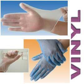 Vinyl Disposable Gloves Powder Free (Винил одноразовые перчатки неопудренные)