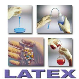 Latex Disposable Gloves Powdered (Латексные перчатки одноразового Сухая)