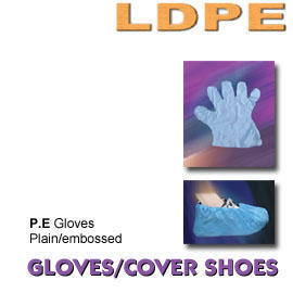 LDPE GLOVES / COVER SHOES (LDPE ПЕРЧАТКИ / Cover ОБУВИ)