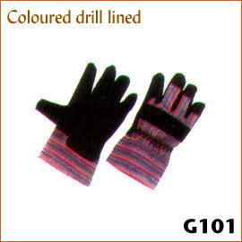 Coloured drill lined G101