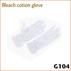 Bleach cotton glove G104