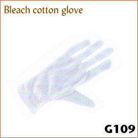 Bleach cotton glove G109