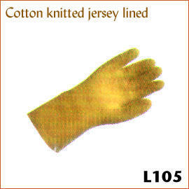Cotton knitted jersey lined L105