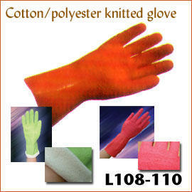 Cotton knitted fabric lined L109