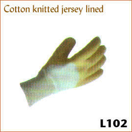 Cotton knitted jersey lined L102