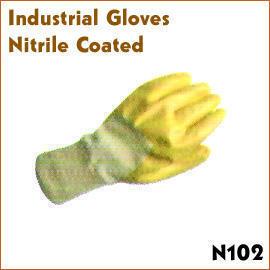 Industrial Gloves Nitrile Coated (Промышленные перчаток покрытием)