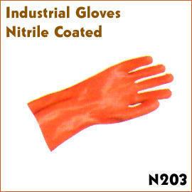 Nitrile Coated (Нитрил покрытием)