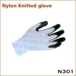 Nylon Knitted glove N301