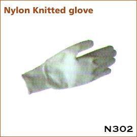 Nylon Knitted glove N302