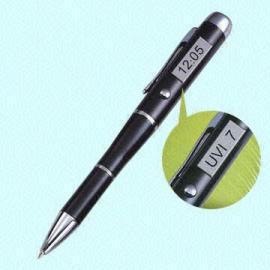 Multifunctional Pen with UV Index Detector and Alarm (Многофункциональные Ручка с УФ индекс Детектор и сигнализации)