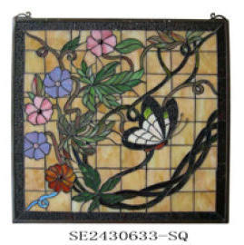 Tiffany Stained Glass Panel (Tiffany Stained Glass Panel)