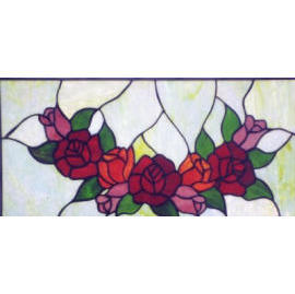 Tiffany Stained Glass Panel (Тиффани Витражи Группы)