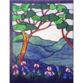 Tiffany Stained Glass Panels (Tiffany Stained Glass Panels)