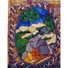Tiffany Stained Glass Window (Tiffany Stained Glass Window)