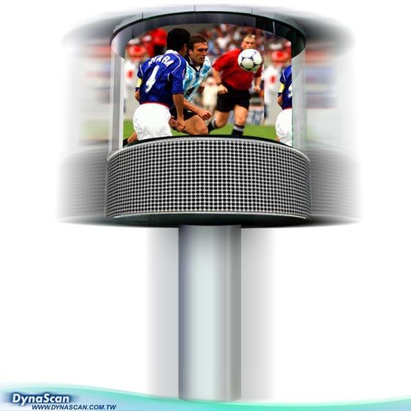 360 Degree LED Video Display<Outdoor series> (360 Степень светодиодный дисплей &lt;Outdoor series&gt;)