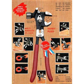 HANDY PLIERS male function hammer pliers Has the iron ,