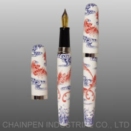504H Hand-crafted Porcelain Fountain Pen (504h ручного фарфорового Fountain Pen)