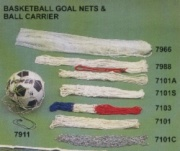 BASKETBALL GOAL NET & BALL CARRIER