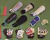 Schienbeinschoner Torwart-Handschuhe (Schienbeinschoner Torwart-Handschuhe)