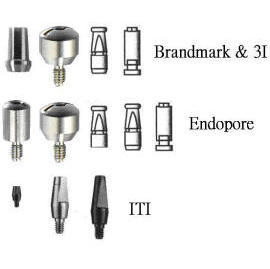 Abutments of Dental Titanium Implants