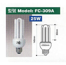 Energy Saving Lamp - 3U/4U Shape.