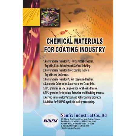 CHEMICAL MATERIALS FOR COATING INDUSTRY