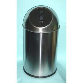 Push Style Trash Bin