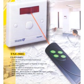 INFRARED REMOTE CONTROL Dimmable Type SWITCH