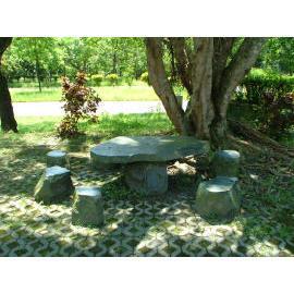 Garden table * stools