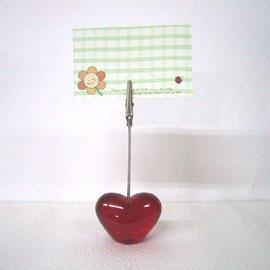 Heart-Shaped Memo Clip (Heart-Shaped Memo Clip)