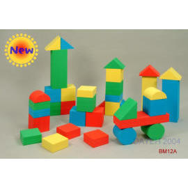 EVA foam medium building block (EVA-Schaum mittlerer Baustein)