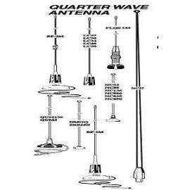 Quarter Wave Antenna (Квартал волны антенна)