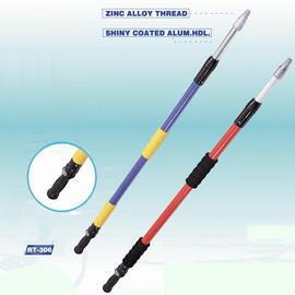Flow-thru Fiberglass Poles