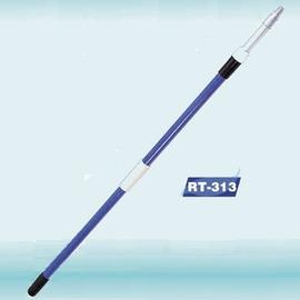 2 Sec Fiberglass Handle with Zinc Alloy Thread (2 п. стеклопакетами Ручка с цинковый сплав Thread)
