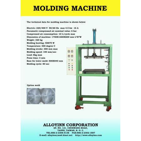 bra cup textile moulding machine